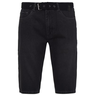 Pantalon scurt Combat Curea Pierre Cardin Web Denim barbat