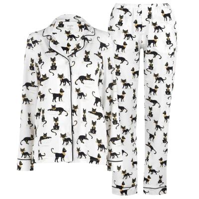 Pijama Bedhead Cario Kitten Maneca Lunga Set