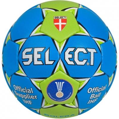 HAND BALL SELECT SOLERA MINI 0 blue-green IHF
