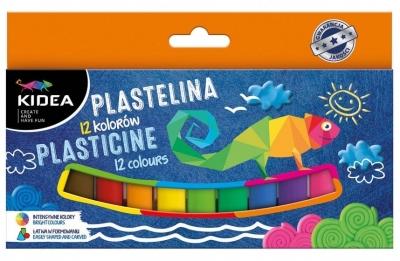 Plastilina 12 Culori, Kidea