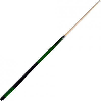 Pool cue 2-CZ FIRST green