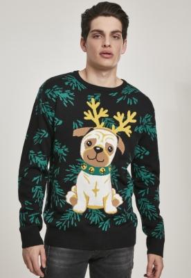 Bluza trening Pug Christmas Urban Classics