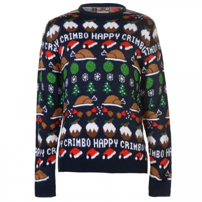 Star Christmas Knit Jumper barbat