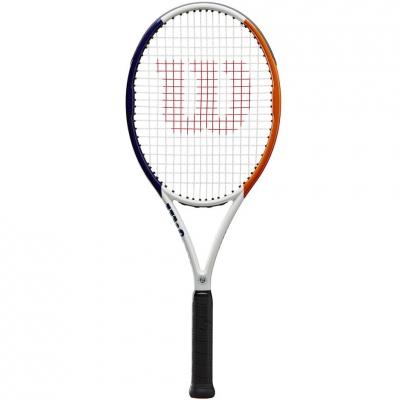 Racheta tenis Wilson Roland Garros Team RKT 2 white-navy blue-brown WR030310U2