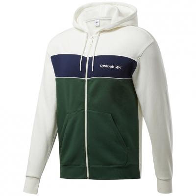 Men's Reebok Linear Fullzip green-white GD0443