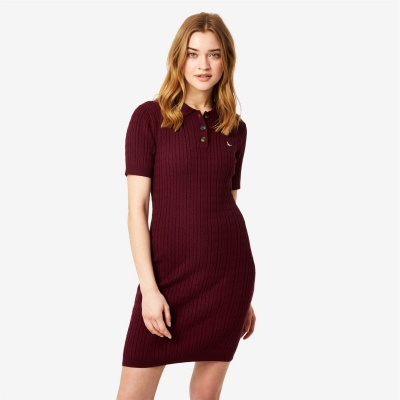 Rochie Jack Wills Polo Cable Knitted Mini