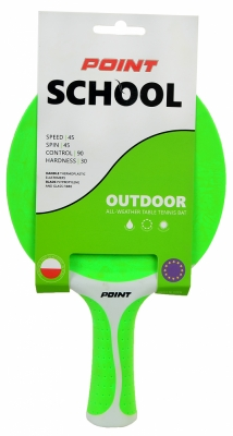 ROCKET FOR PING PONGA POINT SCHOOL OUTDOOR green