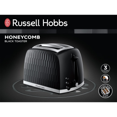 Russell Hobbs Hobbs Honeycomb 2 Slice Toaster