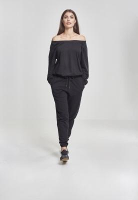 Cold Shoulder Terry Jumpsuit dama Urban Classics