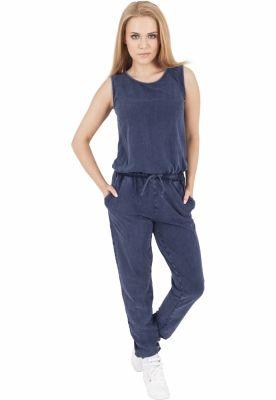 Denim Jersey Sleeveless Jumpsuit dama Urban Classics