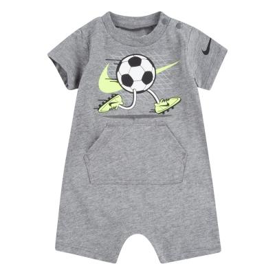 Nike Maneca Scurta Romper Suit bebelus baietel