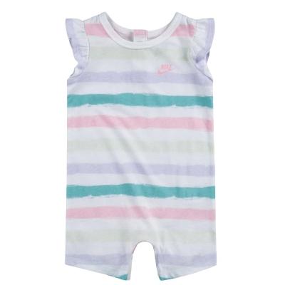 Nike Maneca Scurta Romper Suit bebelus fetita