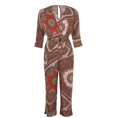 Only Three Quarter Woven Jumpsuit