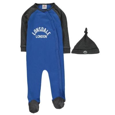 Lonsdale Sleep Suit bebelus baietel