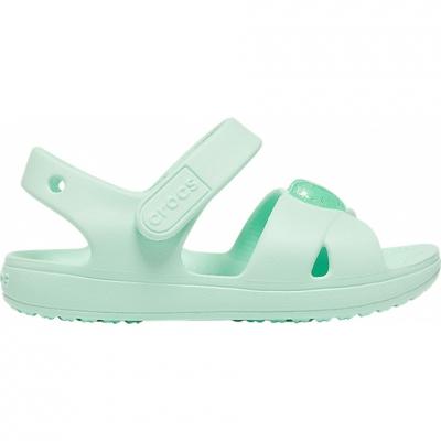 Sanda Sanda Crocs for Classic Cross Strap PS neo turquoise 206245 3TI copil