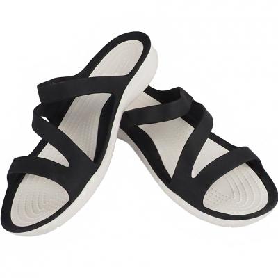 Sanda Crocs Swiftwater W black white 203998 066