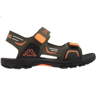 Sanda Kappa Pure K Footwear green-orange 260594K 3144 copil
