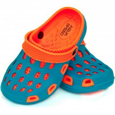 Sanda 's pool Aqua-speed Silvi kol 01 blue orange copil