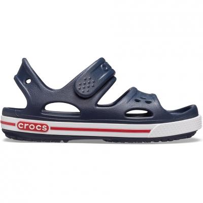Sanda Sanda Crocs for Crocband II navy blue and white 14854 462 copil