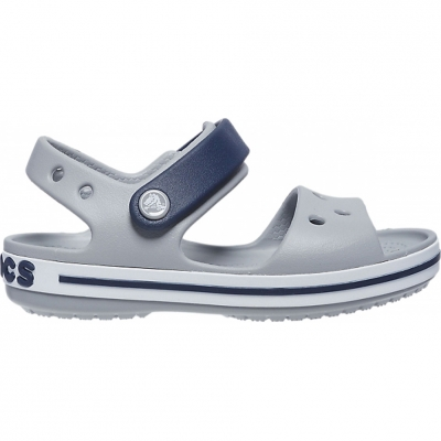 Sanda Sanda Crocs for Crosband gray-navy blue 12856 01U copil copil