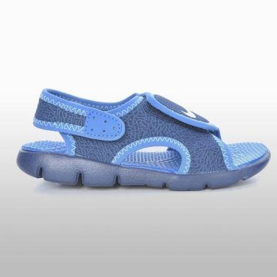 Sandale albastre cu arici Nike Sunray Adjust 4 Baietei