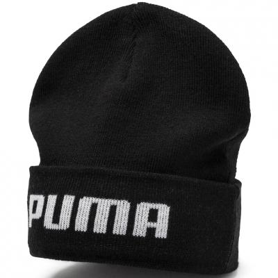 Sapca Puma Mid Fit Cat Beanie black 021708 01