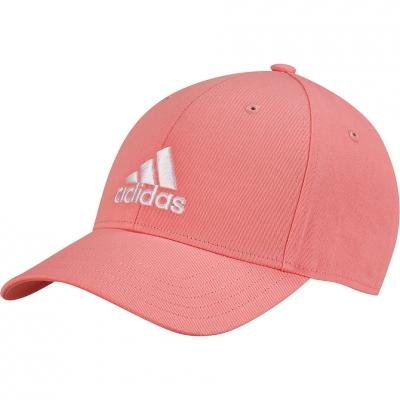 Sapca with a visor adidas Baseball Cotton Twill OSFC pink GM6272