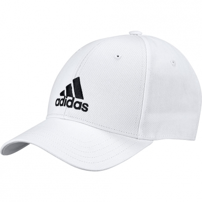 Sapca Youth baseball adidas Baseball Cotton OSFY white FK0890