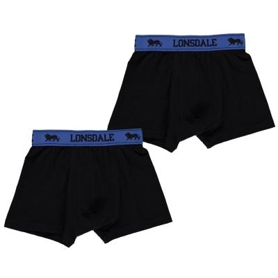 Lonsdale 2 Pack Trunk copil baietel
