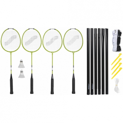 Badminton set Stiga Weekend WS Set 2 rackets, 2 target mesh with racks