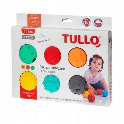 Balls sensory rolls 6 pcs. AM Tullo colored 462