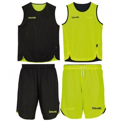 Minge Baschet Bilateral  set for Spalding black and nena green copil