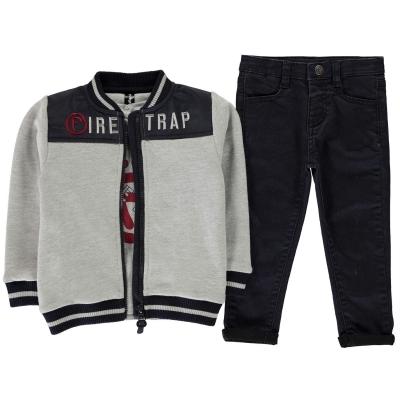 Firetrap 3 Piece Trouser Set baietel bebelus