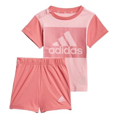 Tricou Pantalon scurt Combat adidas and Set bebelus