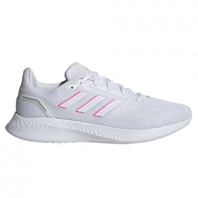 Pantof 's adidas Runfalcon 2.0 white-pink FY9623 dama