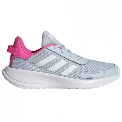 Pantof 's adidas Tensaur Run K gray-pink FY7288 copil