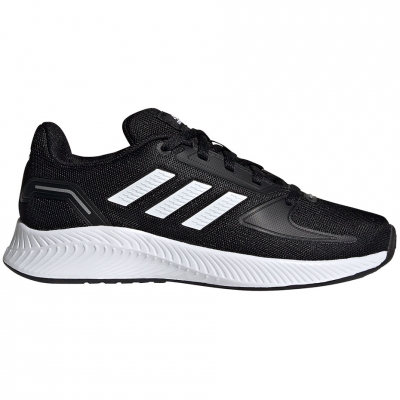 Pantof for adidas Runfalcon 2.0 K black and white FY9495 copil