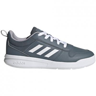 Pantof for adidas Tensaur K gray FV9450 copil