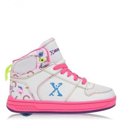 Pantof Sidewalk Sport Hi Top Roller copil fetita