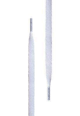 White Flat 120cm Tubelaces