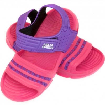 Papuc Casa Pool for Aqua-speed Noli pink-violet col.39 copil