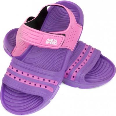 Papuc Casa Pool for Aqua-speed Noli violet pink col.93 copil