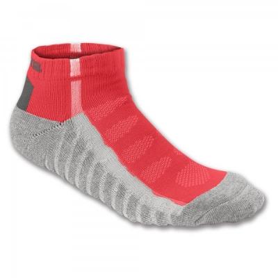Soseta Ankle Red-grey Striped Joma