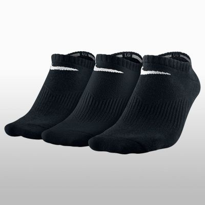 Set 3 perechi sosete Nike negre scurte Lightweight No Show Barbati
