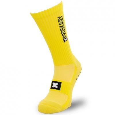 Soseta Proscars yellow non-slip training copil
