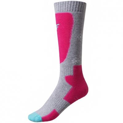 Soseta Ski for 4F pink HJZ19 JSODN001 54S fetita