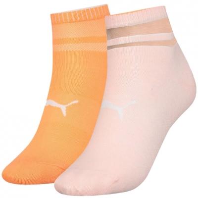Soseta Soseta 's Puma Short Structure 2 pairs, peach, orange 907621 01 dama