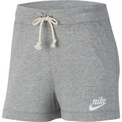 Spodenki damskie Nike Gym Vintage szare CJ1826 063