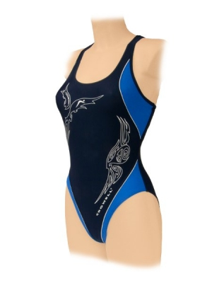 STR? ?? J SWIMMING CROWELL model 160 navy blue dama