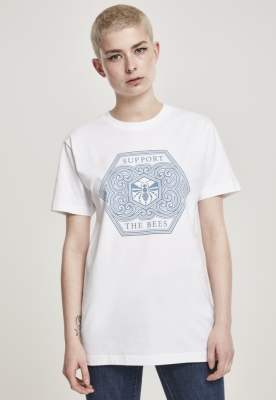 Tricou Support The Bees dama Mister Tee